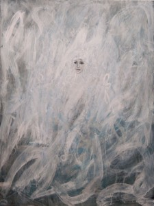 Vapour. Acrylic on panel, 2012